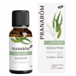 Pranarom. Aceite esencial Eucaly'Pur. Menta y Eucalipto. Purificador del aire.