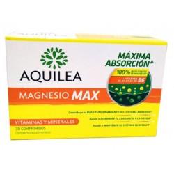 Aquilea magnesio Max. Con Bisglicinato de Magnesio de alta absorción