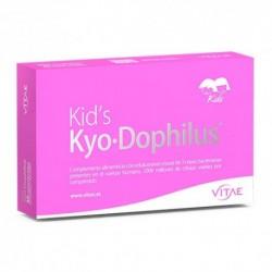 Kid's KyoDophilus con enzimas digestivas de Vitae 15 cápsulas