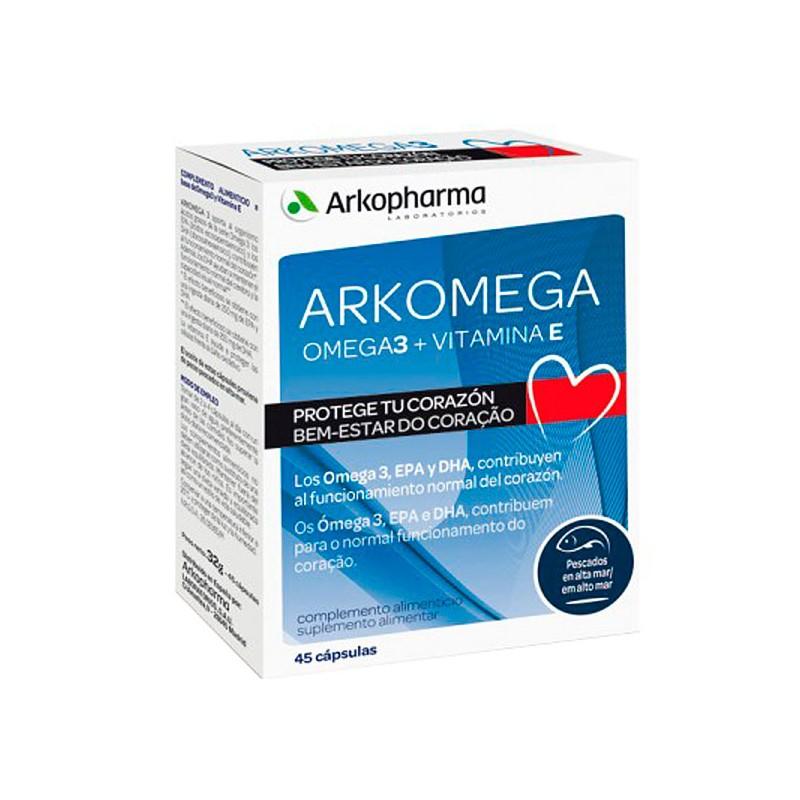 Arkomega 3 45 cápsulas de Arkopharma
